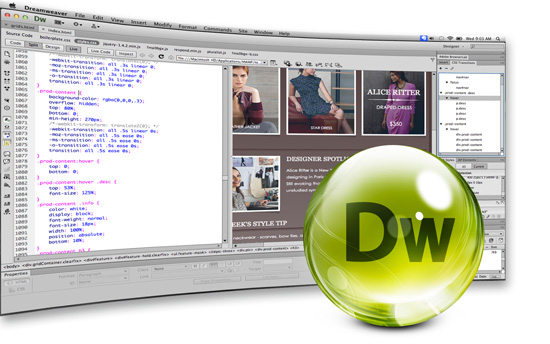 Курсы Adobe Dreamweaver